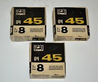 SET OF 3 USSR 2x8mm BLACK & WHITE FILM PACKAGES 04-45 for MOVIE CAMERAS (2)
