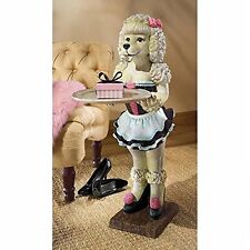 EU9287- Coco, the Parisian Poodle Serving Table