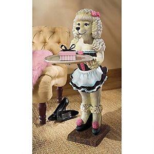 EU9287- Coco, the Parisian Poodle Serving Table