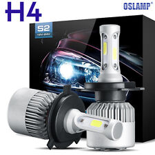 OSLAMP COB H4 HB2 9003 200W 20000LM LED Headlight Kit Hi/Lo Power Bulbs 6500K