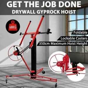 vidaXL Plasterboard Lifter 350cm Drywall Gyprock Panel Lift Sheet Board Hoist