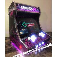 ULTiMATE CUSTOM Bartop Multicade Arcade Cabinet Over 9,000 games raspberrypi