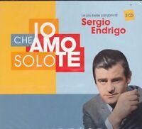 3 CD ♫ Box Set SERGIO ENDRIGO ~ IO CHE AMO SOLO TE ~ CANZONI PIÙ BELLE~ THE BEST
