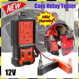 Electronic Automotive Car Relay Tester 12V Auto Battery Checker Tool Analyzer UK