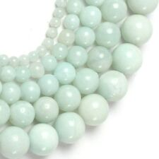 PERLE RONDE EN AMAZONITE 6MM X15