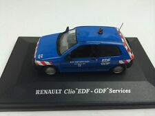 Universal Hobbies 1:43 RENAULT Clio EDF-GDF Services Die-cast Metal Model