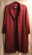 Joan Fagan Vintage - Maroon - Long Sweater - Size Large