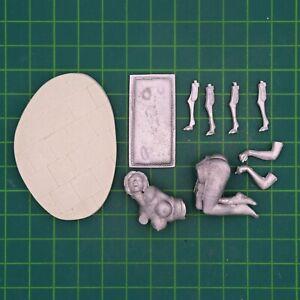 Maid Service 75mm 1 Figur El Viejo Dragon Miniaturas Pin up ASR52