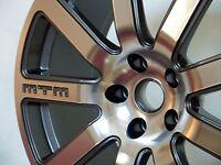 MTM Bimoto Felge 8,5x19 5x112 ET50 Titan-Poliert Rad Alufelge Audi VW Seat Skoda