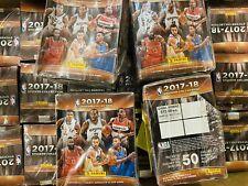 Panini NBA Basketball 2017 - 2018 Mexico Edition 20 Stcker Packets Box Case