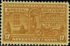 #E18 1944 17c SPECIAL DELIVERY ISSUE MINT-OG/HINGED--VF/XF