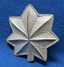 Pre-WWII 1930s Sterling Army Lieutenant Colonel Rank Shoulder Insignia