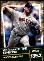 Roger Clemens 2020 Topps WARriors of the Diamond 5x7 Gold #WOD-5 /10 Red Sox