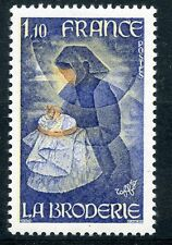 STAMP / TIMBRE FRANCE NEUF N° 2079 ** METIER D'ART LA BRODERIE