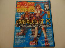 • Player One Magazine Hors Série N°1 Player d'Or 97 meilleurs jeux Consoles PC •
