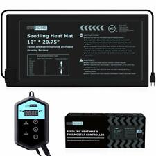 VIVOHOME Seedling Heat Mat & Digital Thermostat Combo Kit for Seed Germination