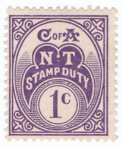 (I.B) Australia - Northern Territory Revenue : Stamp Duty 1c