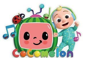 Coco Melon Iron On Transfer Light/Dark Fabrics