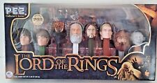 New In Box~Sealed~The Lord Of The Rings ~8 Pez Dispensers Collector's Series