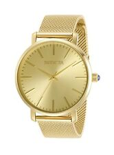 Invicta Women's Angel 31071 38mm Gold Dial Stainless Steel Watch