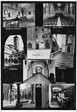 """2217) BOLOGNA, R. CONSERVATORIO DI MUSICA """"G.B. MARTINI"""". 8 VEDUTINE. VIAGGIATA."""