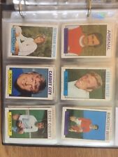109 A&BC Footballers Did You Know? (119-219)  1971 Purple Back Trade Cards
