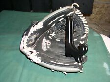 "Rawlings Softball Glove Fast Pitch 11.5"" WFP115 Leather Black/Pink RHT  VryGd ++"