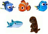 6Pcs Set Finding Nemo 2 Dory Marlin Hank Bailey Poisson Cartoon Modèle gâteau Toppers