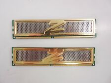 OCZ2G8004GK OCZ Gold 4GB (2 x 2GB) 240Pin DDR2-800MZ PC2 6400 DIMM Dual Channel