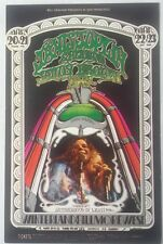 Bill Graham BG 165 Postcard   Winterland 3/20-22/1969, Fillmore West 3/23/1969