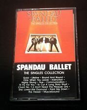 "SPANDAU BALLET ""The Singles Collection"" RARE PROMO Cassette Tape US EX 1985"