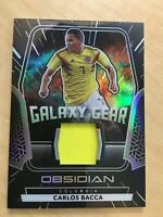 CARLOS BACCA 2020 21 PANINI OBSIDIAN GALAXY GEAR JERSEY SSP /149 COLOMBIA