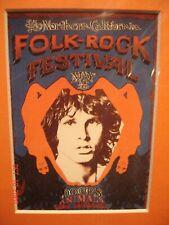 "The Doors Mini Mat Framed Concert Poster ""Northern California Folk Festival"""