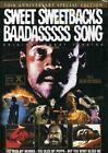 SWEET SWEETBACK`S BAADASSSSS SONG Melvin Van Peebles DVD New