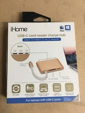 IHome 5 In 1 Usb-c Multi-function Card Reader