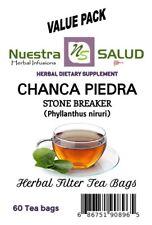 Chanca Piedra Stone Crusher - Tea Filter Tea (60 Tea bags) Te