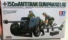 Tamiya 7.5cm Anti Tank Gun PAK40/L46 1/35 FS NEW Model Kit 'Sullys Hobbies'