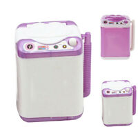 MINI SIMULATED CHILDREN KIDS WASHING MACHINE ROLE PLAY TOY DOLL ACCESSORIES GIFT