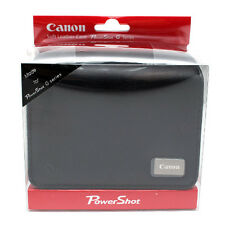 Canon PowerShot G series G11 G10 G9 G8 G7 G6 Leather Camera Case Cover Bag Black