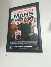 "Veronica Mars 12.5""X20""  Movie Poster (2014) promo complete. 2nd season -framed"