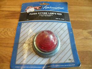 C467 Cosmic Red Flush Fitting Marker Lamp 12v  -5w light