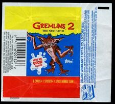 Gremlins 2 The New Batch Topps Trading Cards Wrapper #W43