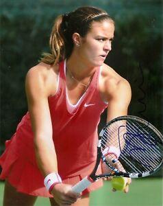 Maria Sakkari Greece Tennis 8x10 Photo Signed Auto