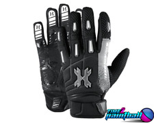 Hk Army Paintball Airsoft Full Finger Pro Gloves - Stealth - Xl