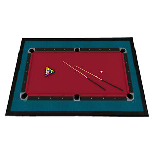8 Ball Pool Table Rubber Doormat