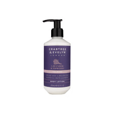 Luxury Brand Crabtree & Evelyn New 250ml Calming Lavender & Espresso Body Lotion