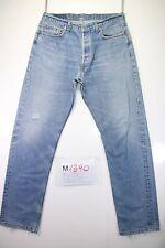 Levi's 517 Boyfriend (Cod. M1390) tg50 W36 L34 jeans usato vintage ORIGINALE