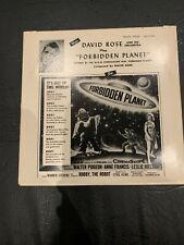 David Rose and his Orchestra FORBIDDEN PLANET and THE SWAN WALTZ Mint Scarce EP