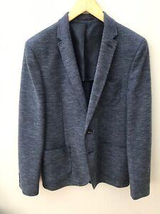 Cedar Wood State Skinny Fit Grey Jacket Blazer Good Condition M Medium