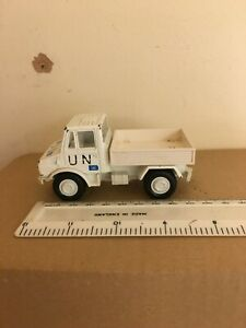 Guisval Large Scale Army United Nations UN Mercedes Unimog - Rare